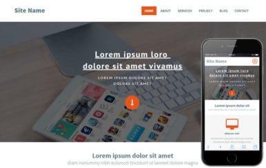 SiteName a Corporate Portfolio Flat Bootstrap Responsive web template