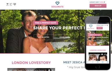 Soul Mate a Dating Category Flat Bootstrap Responsive web template