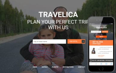 Travelica a Travel Guide Flat Bootstrap Responsive web template