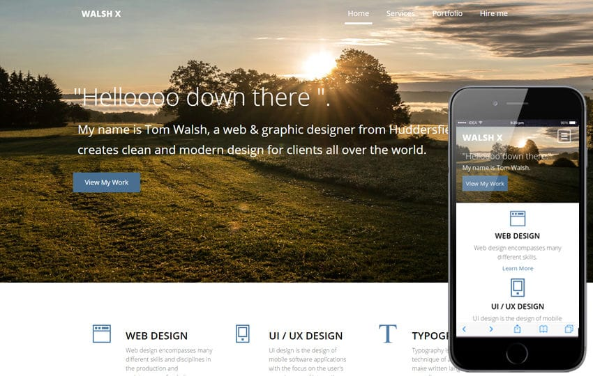 WalshX a Corporate Business Flat Bootstrap Responsive web template