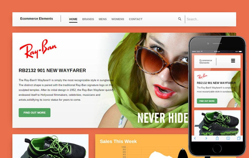 Wayfarer a Flat ECommerce Bootstrap Responsive Web Template