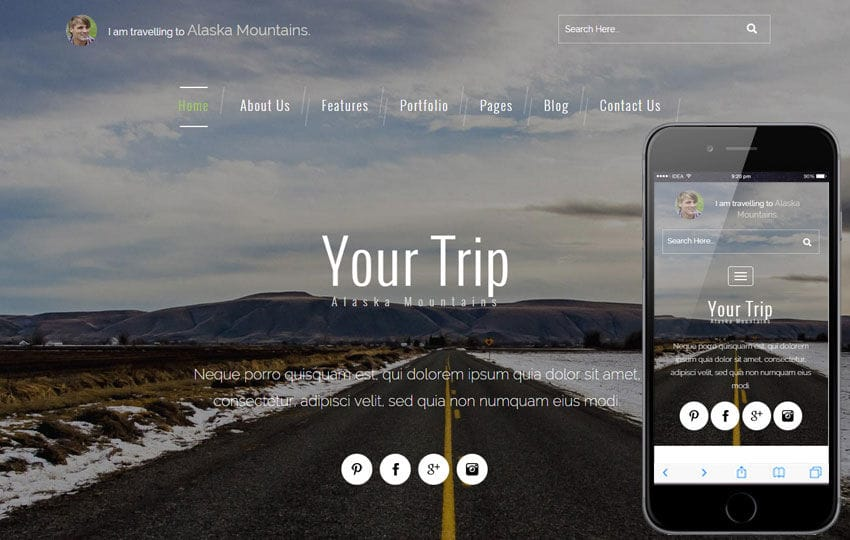 Your Trip a Travel Guide Flat Bootstrap Responsive web template