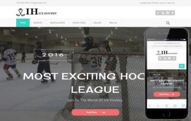 Ice Hockey a Sports Category Flat Bootstrap Responsive Web Template