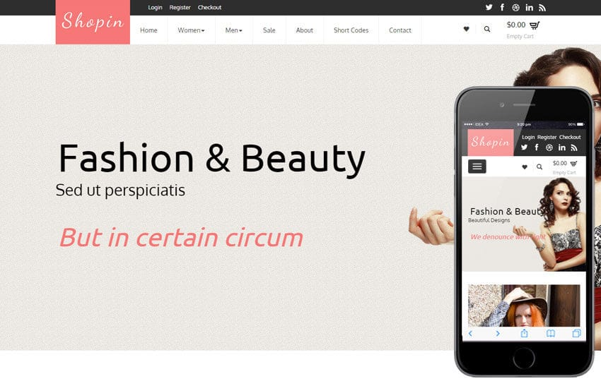 Shopin a Flat Ecommerce Bootstrap Responsive Web Template