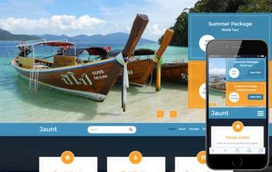 Jaunt  A Travel  Flat Bootstrap Responsive  Web Template