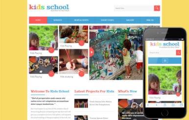 Kids School a Education Flat Bootstrap Responsive Web Template