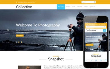 Collective a Multipurpose Flat Bootstrap Responsive Web Template