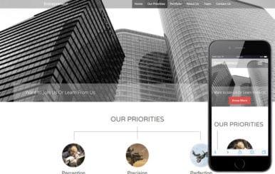 Entrepreneur a Corporate Business Flat Bootstrap Responsive Web Template