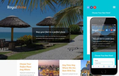 Royal Shine a Hotel Category Bootstrap Responsive Web Template