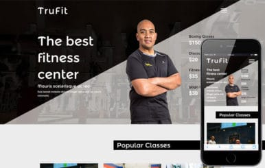 TruFit a Sports Category Flat bootstrap Responsive web Template