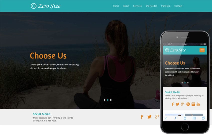 Zero Size a Sports Flat Bootstrap Responsive  Web Template Mobile website template Free