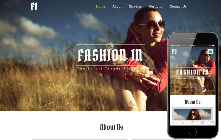 Fashion In a Fashion Category Flat Bootstrap Responsive Web Template
