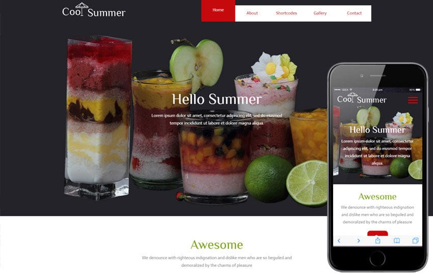 Cool Summer a Hotel Category Flat Bootstrap Responsive  Web Template