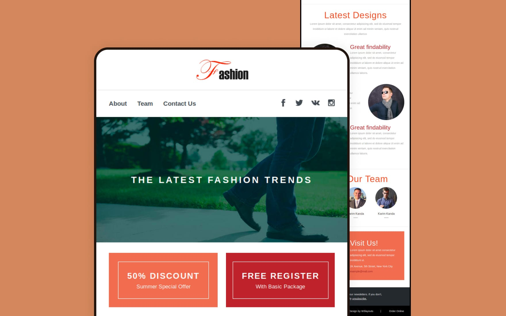 fashion-newsletter-template
