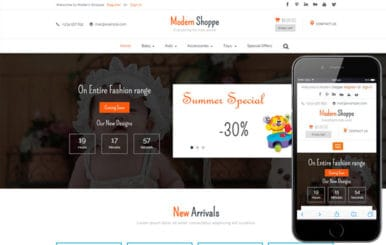 Modern Shoppe a Ecommerce Flat Bootstrap Responsive Web Template