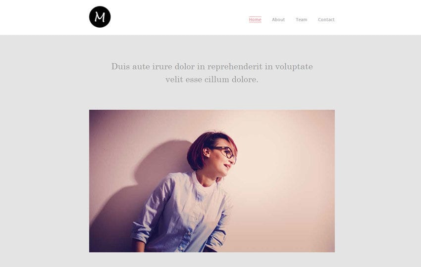 Modus a Fashion Category News Letter Template Mobile website template Free