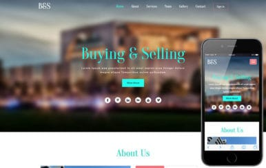 Buying & Selling a Real Estate  Flat Bootstrap Responsive Web Template
