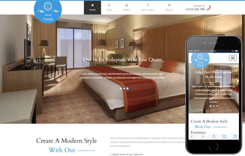 Trendy Furnish a Furniture Category Flat Bootstrap Responsive Web Template