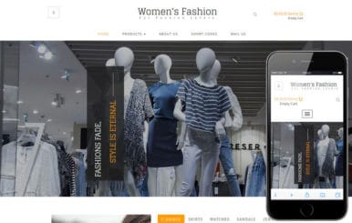 Womens Fashion a Ecommerce Category Flat Bootstrap Responsive Web Template