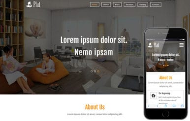 Plat a Real Estate Category Flat Bootstrap Responsive  Web Template