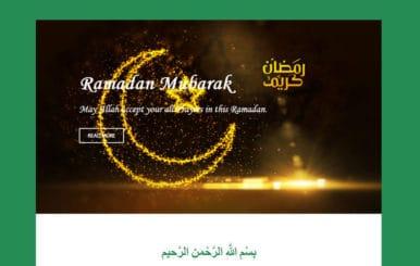 Ramadan News Letter Template