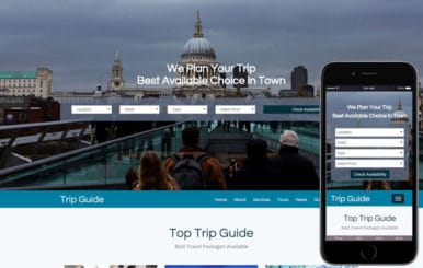 Trip Guide a Travel Agency Bootstrap Responsive web Template