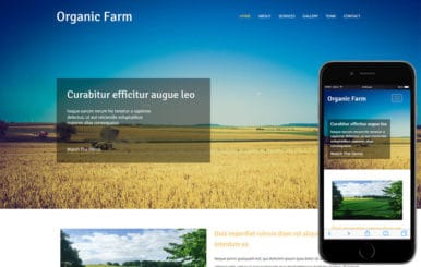 Organic Farm an Agriculture Category Flat Bootstrap Responsive Web Template