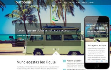 Outdoors a Travel Category  Flat Bootstrap Responsive Web Template