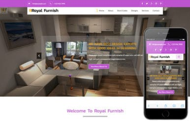 Royal Furnish A Furniture Category Flat Bootstrap Responsive Web Template