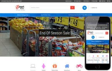 Smart Bazaar an E-commerce Shopping Category Bootstrap Responsive Web Template