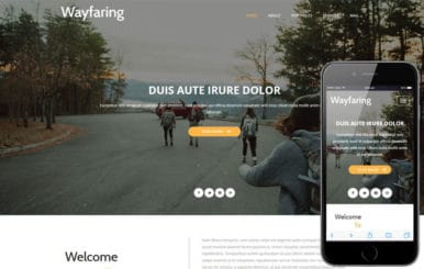 Wayfaring a Travel Category Flat Bootstrap Responsive Web Template