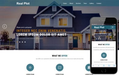Real Plot a Real Estates Category Bootstrap Responsive Web Template