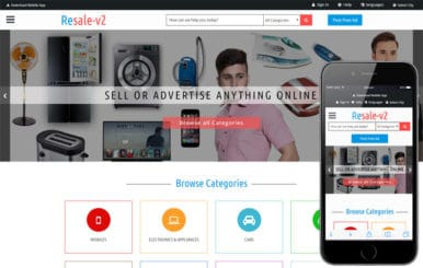 Resale_v2 a Classified ads Category Bootstrap Responsive Web Template