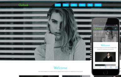 Outlook a Fashion Category Flat Bootstrap Responsive Website Template