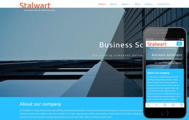 Stalwart a Corporate Category Flat Bootstrap Responsive Web Template