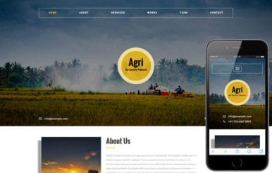 Agri an Agriculture Category Flat Bootstrap Responsive Web Template