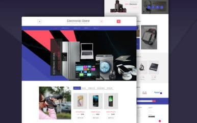 Electronic Store a Ecommerce Online Shopping Category Bootstrap Responsive Web Template