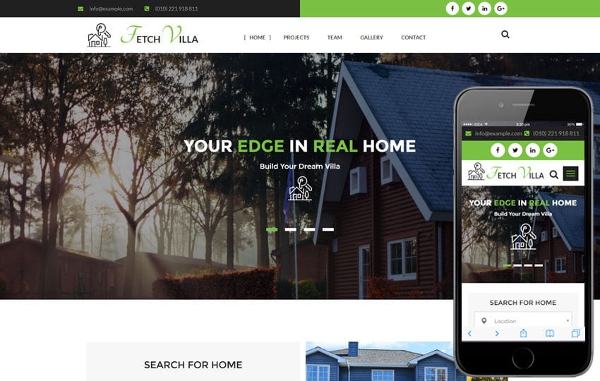 Fetch Villa a Real Estate Category Flat Bootstrap Responsive Web Template Mobile website template Free