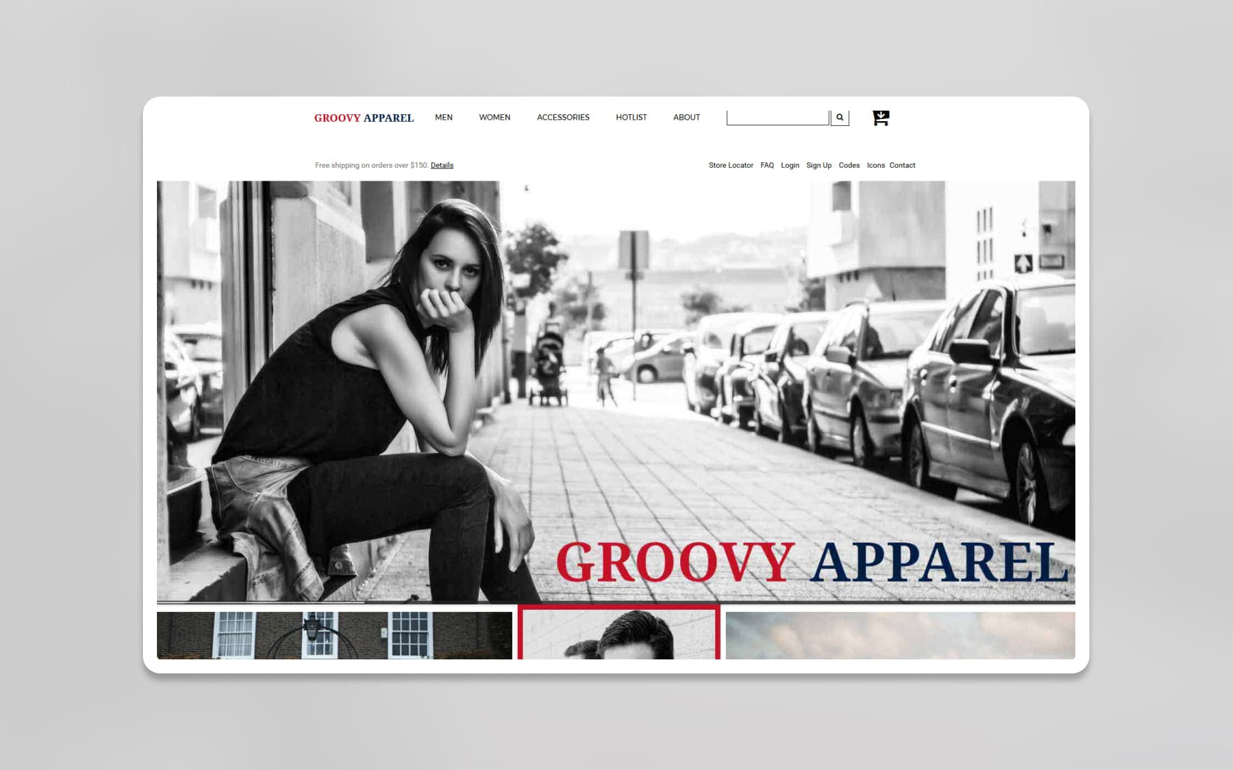 Groovy Apparel an Ecommerce Online Shopping Bootstrap Responsive Web Template