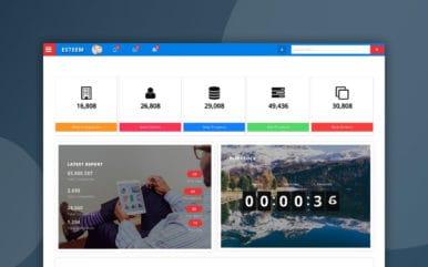 Esteem Admin Panel a Flat Bootstrap Responsive Web Template