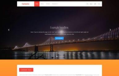 Fantastic UI Kit Flat Bootstrap Responsive Web Template