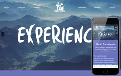 Odyssey a Travel Category Bootstrap Responsive Web Template