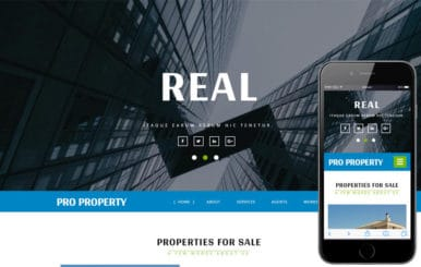 Pro Property a Real Estate Category Bootstrap Responsive Web Template