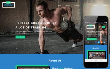 Gym Workout a Sports Category Flat Bootstrap Responsive Web Template