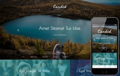 Candid a Photo Gallery Category Flat Bootstrap Responsive Web Template