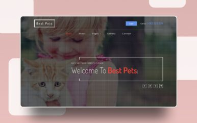 Best Pets an Animals Category Bootstrap Responsive Web Template