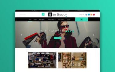 Elite Shoppy – E-commerce Category Bootstrap Responsive Website Template