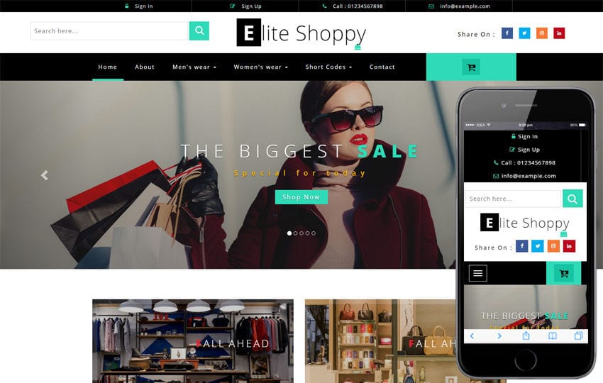 Ecommerce Website Templates | Online Store - W3layouts
