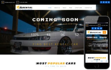 Car Rental – Auto and Transportation Bootstrap Responsive Web Template