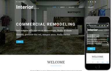 Interior Style an Interior Category Bootstrap Responsive Web Template